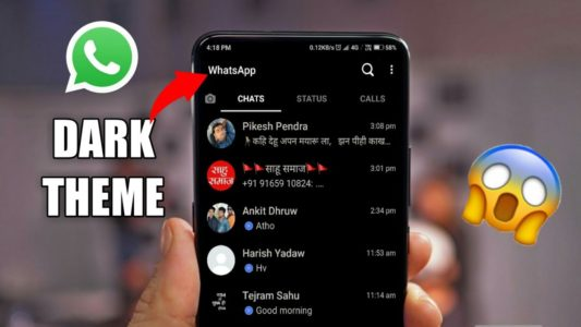 Whatsapp Me Dark Mode Enable Kaise Kre