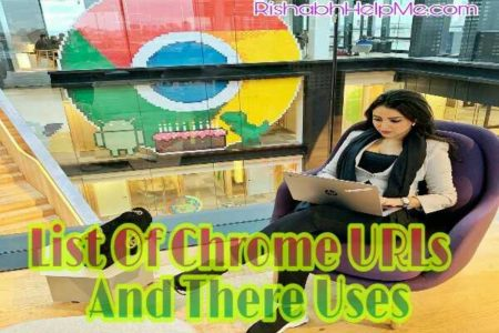 list of chrome urls and there uses