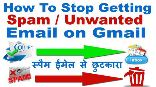how to block spam emails on gmail