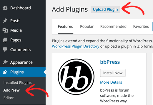 wordpress me plugin kaise install kre