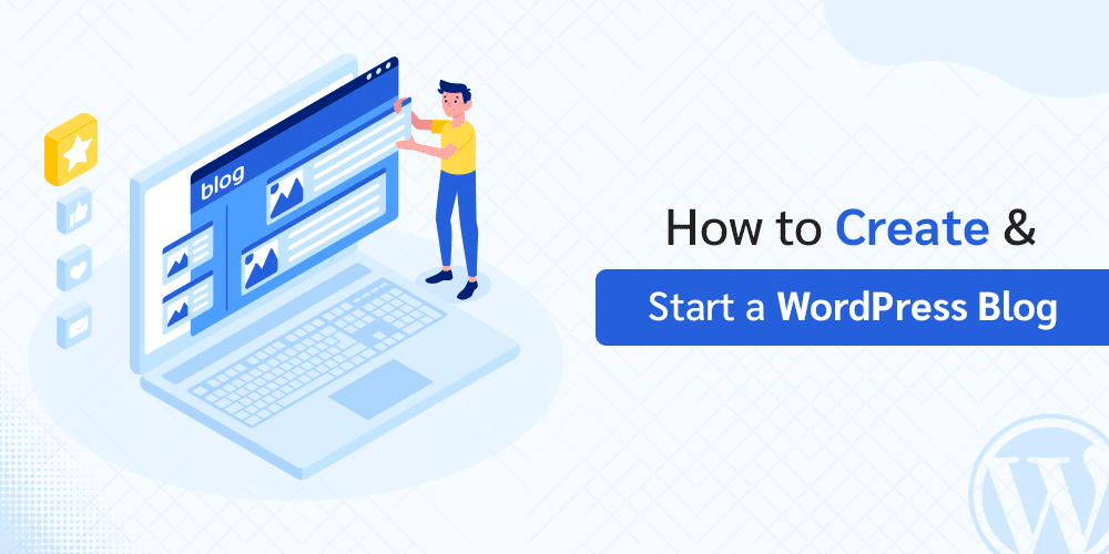 how to create a wordpres blog by RHM
